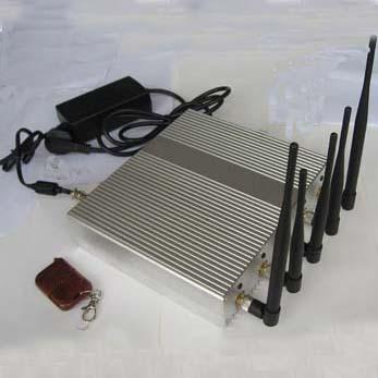 Brouilleurs route peut bloquer GSM 3G
