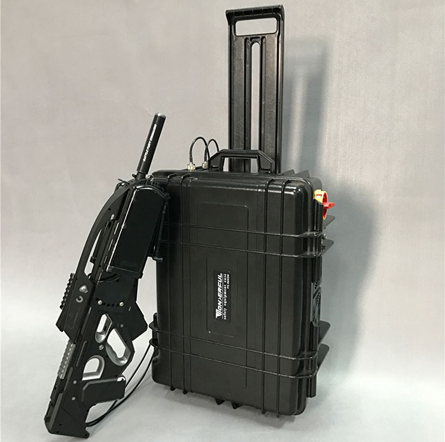 mapshare - Brouilleur antennes directionnelle de haute puissance chariot