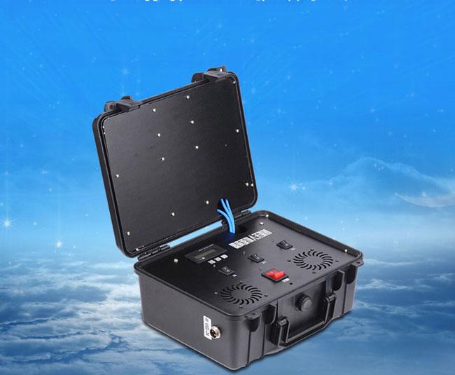 Brouilleur de boîte drone d'éloignement de haute puissance GPS 2.4G 5.8G