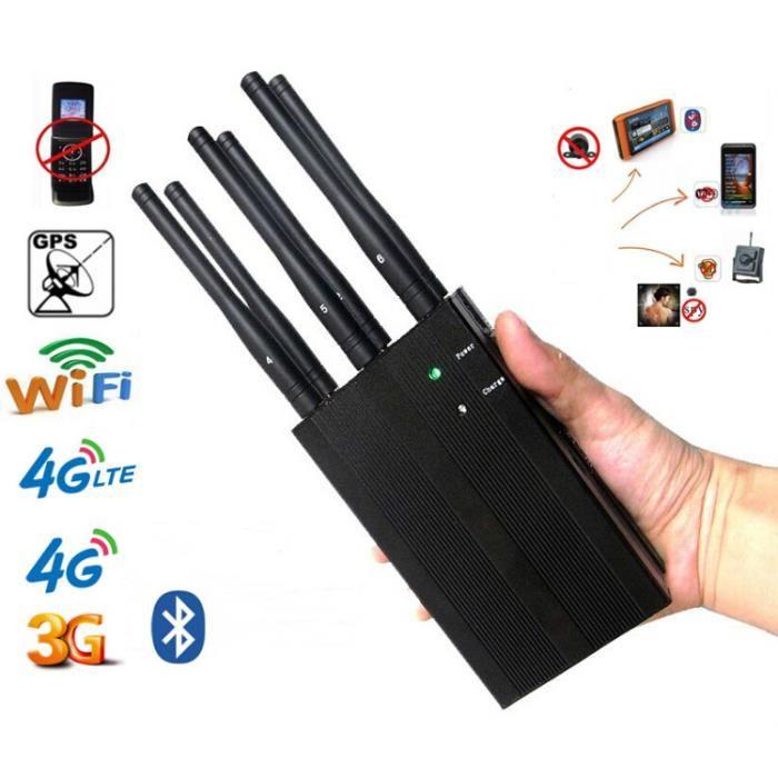 les debrouilleurs , Brouilleur Portable Haute Puissance Brouilleur telephone GSM GPS 3G 4G CDMA wifi