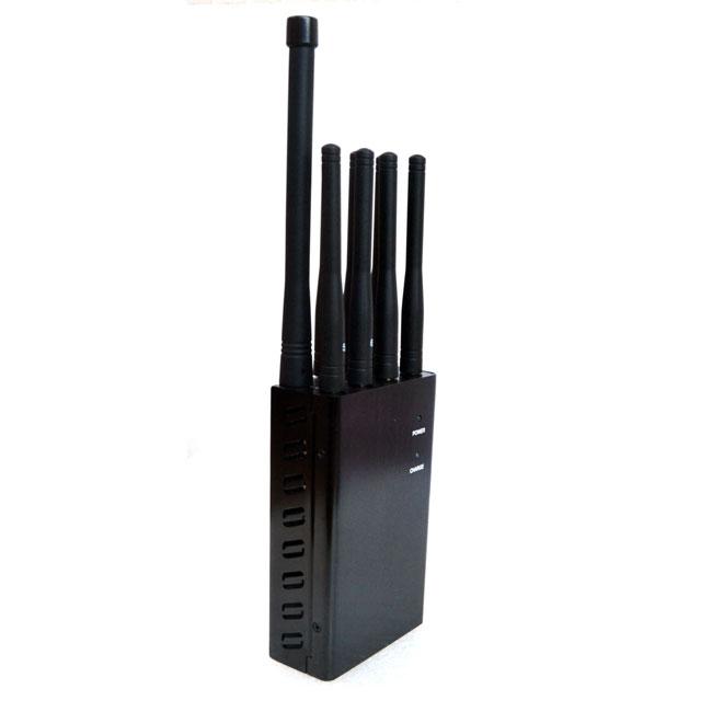 brouilleur signaux cellulaire | Nouveau Brouilleur tenu dans la main Téléphone portable signal de GPS WIFI/2.4G/5.8G Lojack