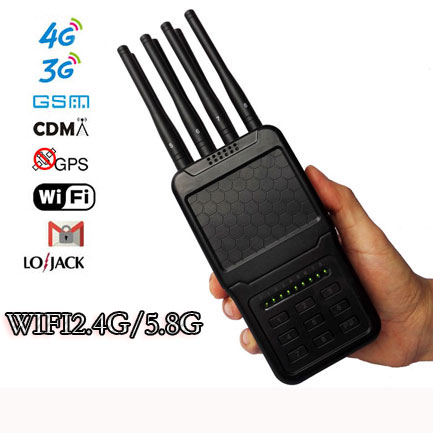 Brouilleur WiFi2.4G/5.8G telephone portable