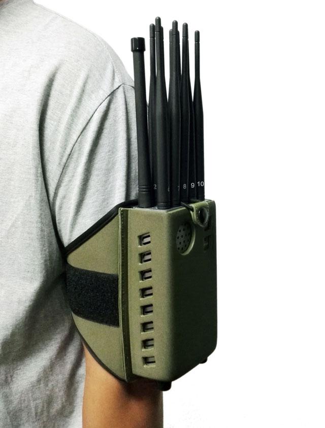 10 bandes Portable brouilleur