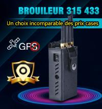Brouilleur 315 433 de telephone portable